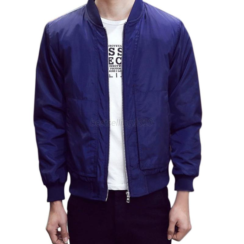 US-Mens-Fashion-Casual-Bomber-Jacket-Warm-Winter-Baseball-Coat-Slim-Fit-Outwear