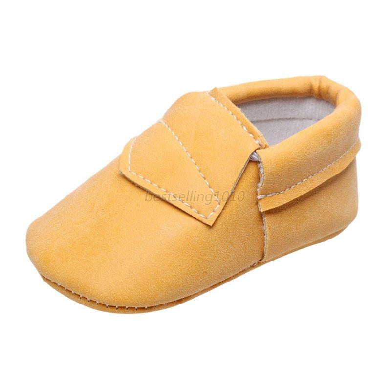 baby soft sole leather shoes infant boy toddler