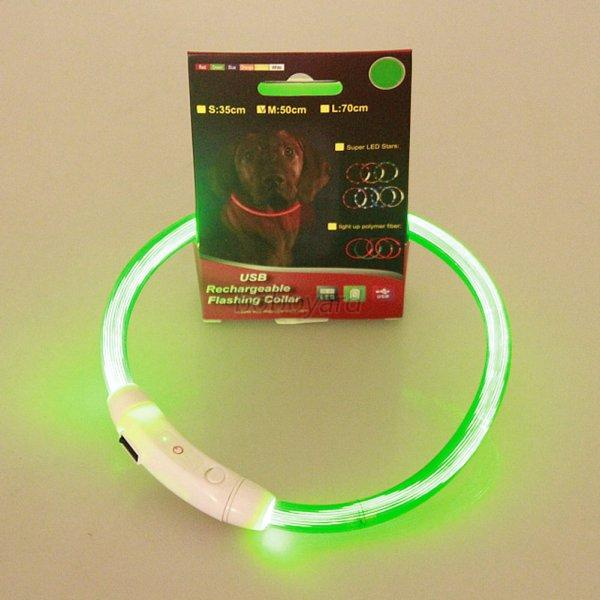 Safety Glow Rechargeable Dog Collar Uk