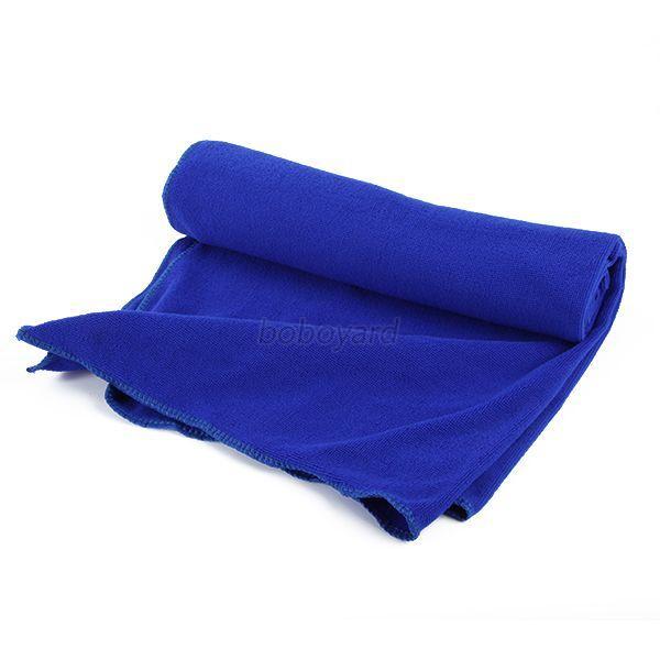 Microfiber Bath Towels For Camping: Solid Color Home Bathroom Bath Towel Soft Microfiber Quick