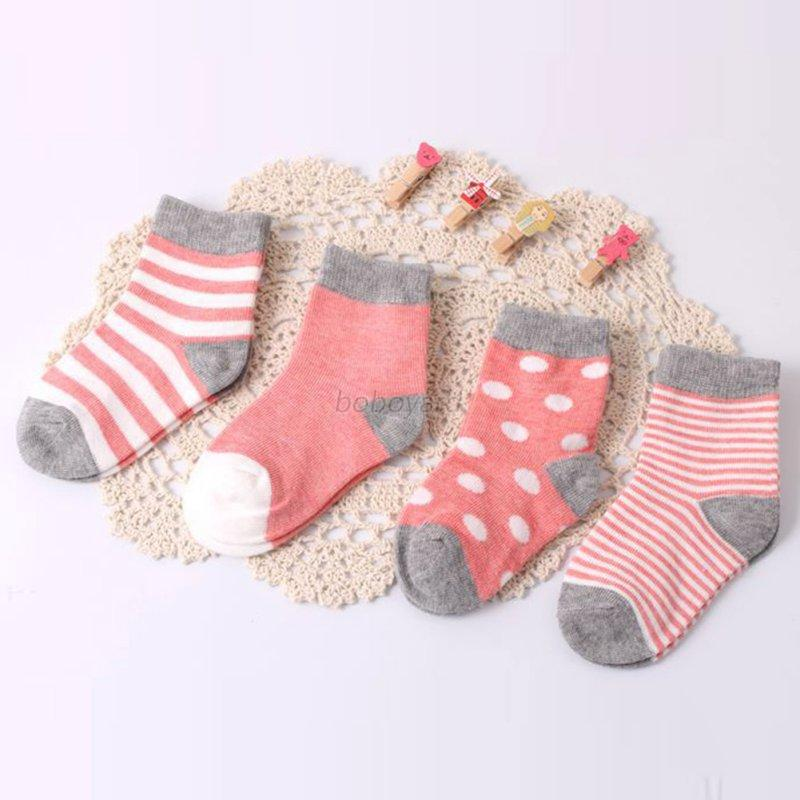 NewBorn Baby Girl Boy Sock Toddler Cartoon Soft Non Slip