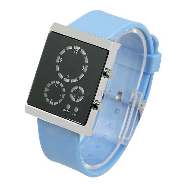 led waterproof bracelet digital analog