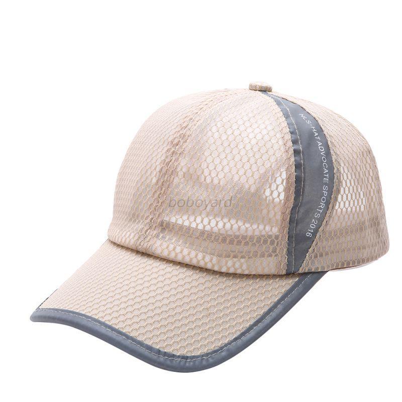 Unisex Men Women Outdoor Adjustable Hat Hiking Golf ...