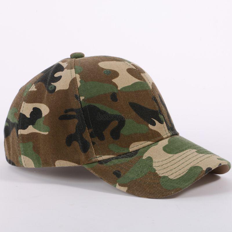 camouflage baseball cap army camo hat trucker