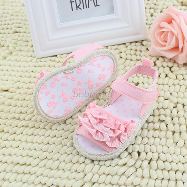 Princess-Newborn-Summer-Sandals-Baby-Infant-Girl-Lace-Soft-Sole-Crib-Shoes-0-18M