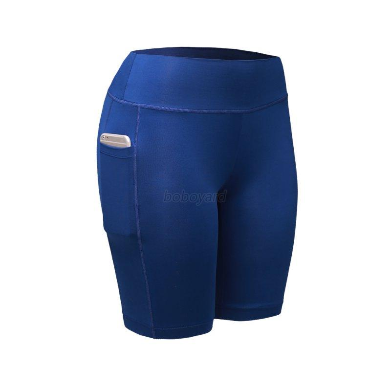 Compression-Women-Sports-Yoga-Workout-Pants-Running-Fitness-Gym-Stretch-Shorts