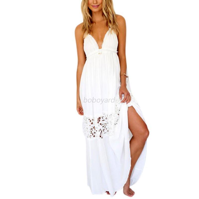 Backless Long Maxi Dresses