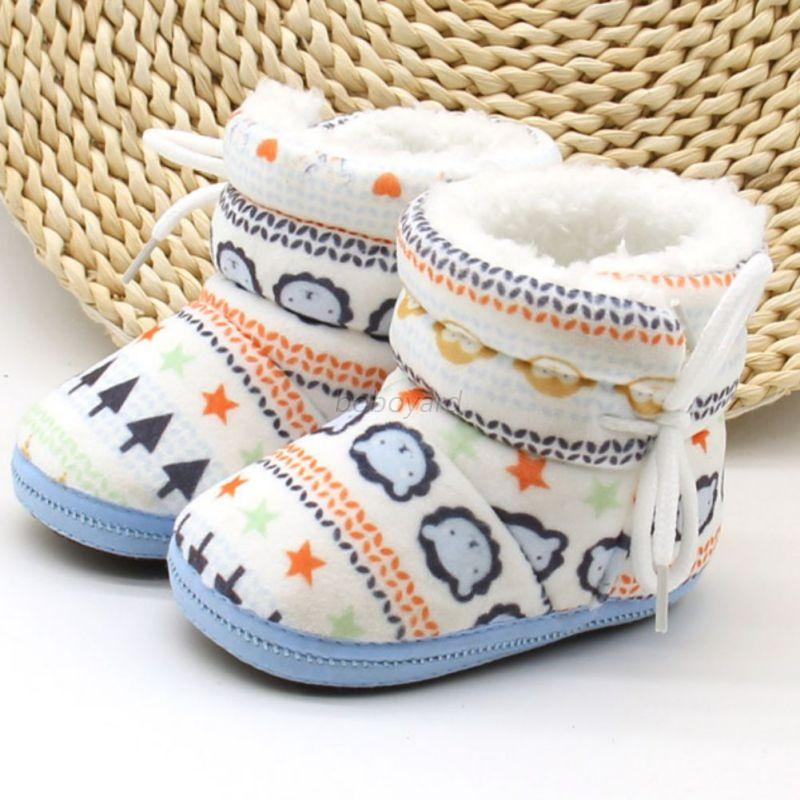 Winter-Toddler-Baby-Boy-Girl-Warm-Snow-Boots-Infant-Soft-Sole-Slipper-Crib-Shoes