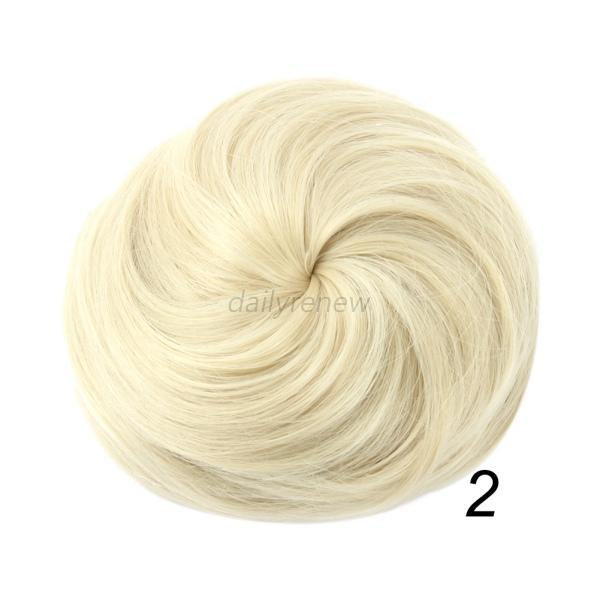 Ponytail Hair Extension Bun Hairpiece Wig Scrunchie 61