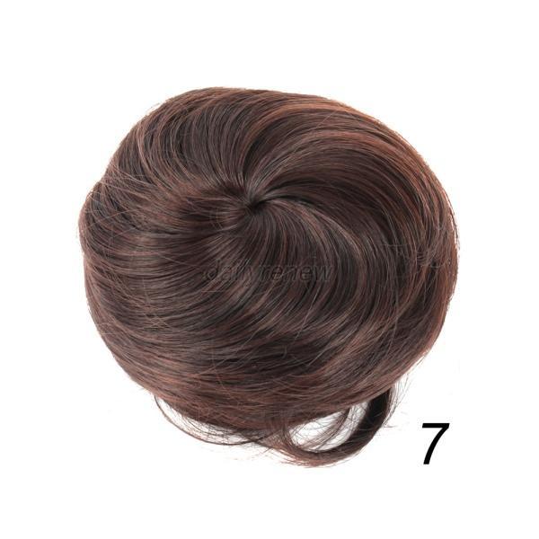 Ponytail Hair Extension Bun Hairpiece Wig Scrunchie 109
