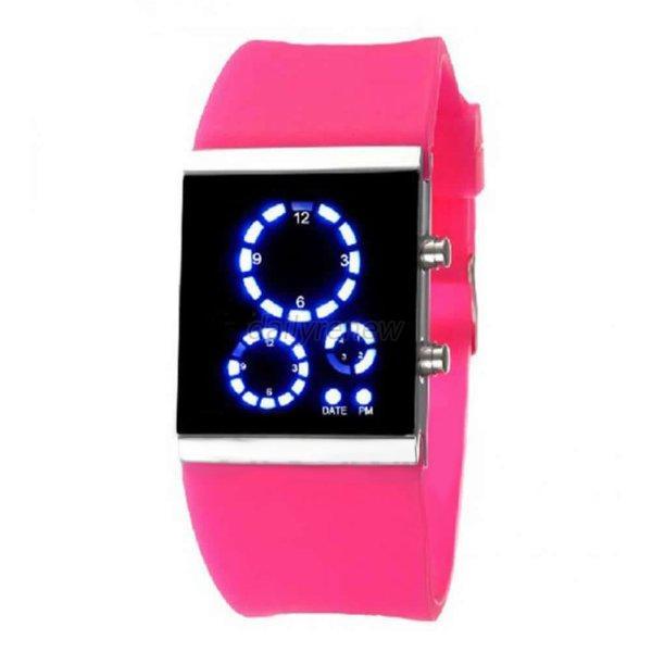 waterproof led run sport watches bracelet
