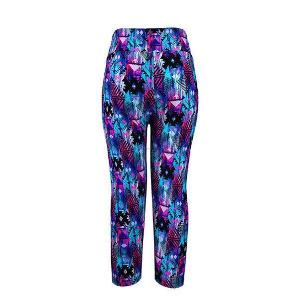 Women's Capris Leggings High Waisted Floral Printed Yoga Pants ...