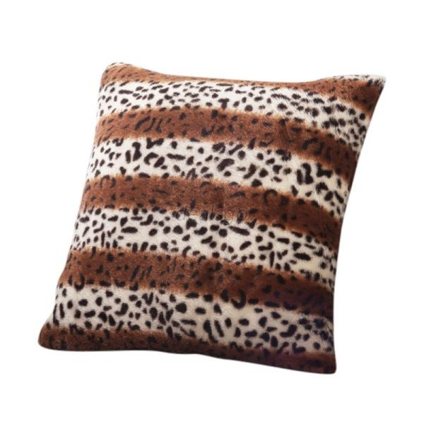 Animal Print Sofa Pillows : Animal Zebra Leopard Print Pillow Case Sofa Waist Throw Cushion Cover Decor Chic eBay