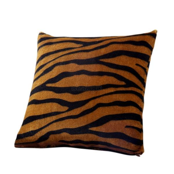 Animal Zebra Leopard Print Pillow Case Sofa Waist Throw Cushion Cover Decor Chic Ebay
