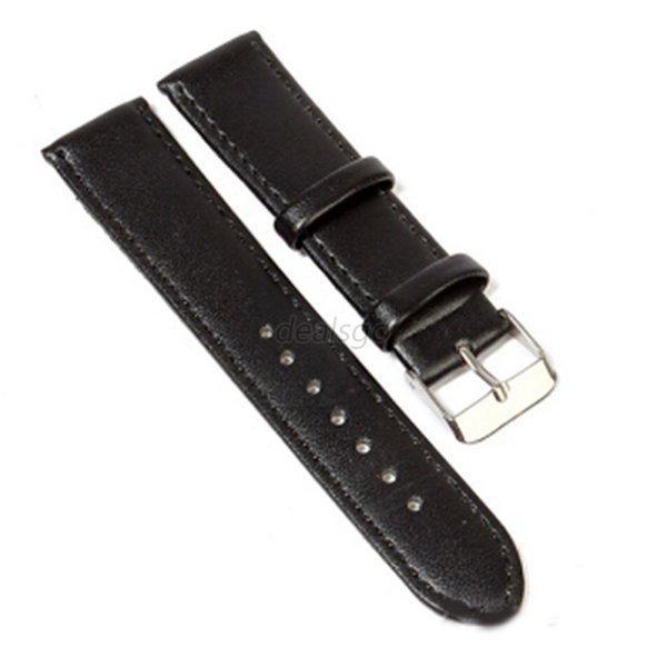 Brand New PU Leather Grain Watch Strap Band Buckle Wrist Watch Strap Band Link