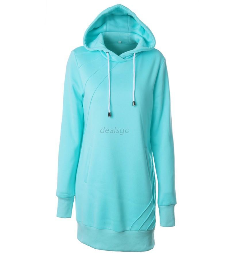 Long hoodie for women