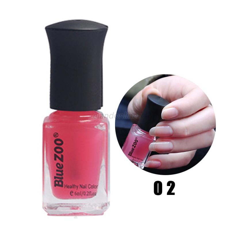 Fast Dry Long Lasting DIY Nail Art Polish Transparent Jelly Lacquer ...