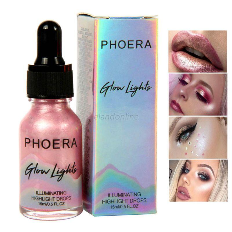 makeup liquid highlighter illuminating drops face shimmer highlight glow bronzer ebay. Black Bedroom Furniture Sets. Home Design Ideas