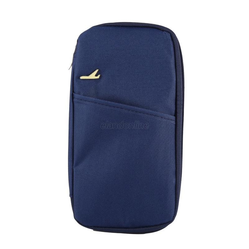 Portable Id Credit Card Organizer Holder Cash Travel Passport Wallet Useful Bag Ebay
