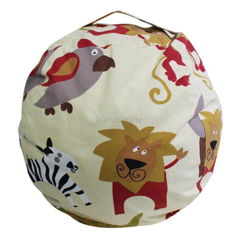 AU Kids Stuffed Animal Toys Cotton Bean Bag