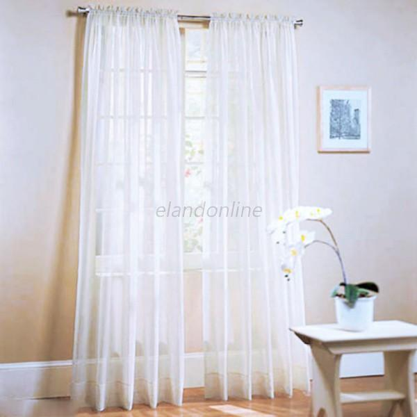 Door Window Curtain Drape Panel Scarf Assorted Scarf