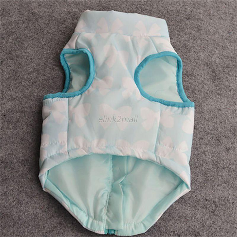 Cat-Dog-Pet-Clothing-Soft-Padded-Vest-Harness-Jacket-Small-Dog-Puppy-Cute-Coat thumbnail 22