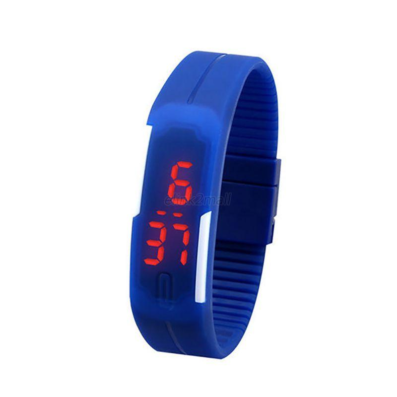 waterproof led sport fitness watches