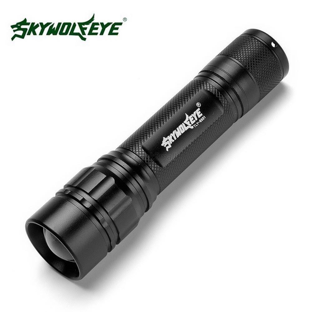 3000 lumens 3 modes cree xml t6 led 18650 flashlight. Black Bedroom Furniture Sets. Home Design Ideas