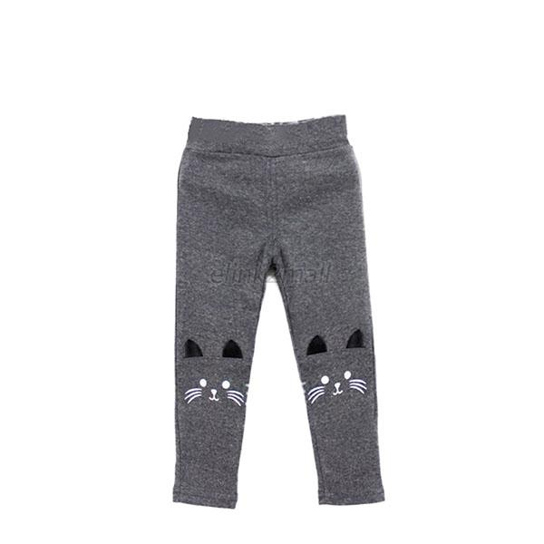 Cat-Print-Kids-Girl-Baby-Tight-Pants-Toddler-Stretch-Warm-Leggings-Trousers-US
