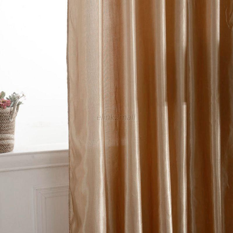 Window Screen Curtains Door Room Lining Curtains Drapes Panel Valance Home Decor