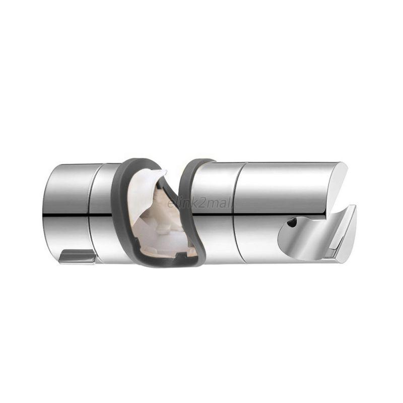 20-25mm-Replacement-ABS-Chrome-Shower-Rail-Head-Slider-Holder-Bracket-Bathroom