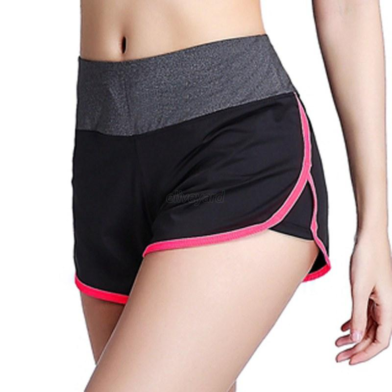 Women Casual Summer Short Pants Sports Gym Yoga Workout