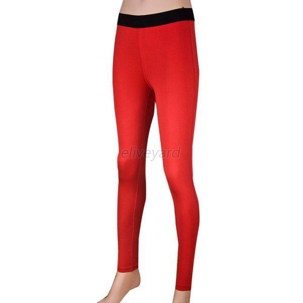 Women Compression Long Pants Tight Leggings Sports Yoga
