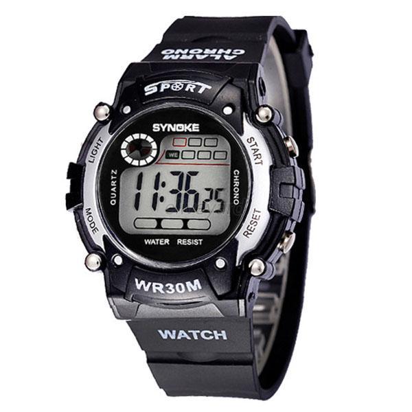 fashionable sports electronic wrist watches waterproof