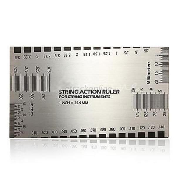 string action gauge ruler guide setup measuring luthier for bass electric guitar ebay. Black Bedroom Furniture Sets. Home Design Ideas