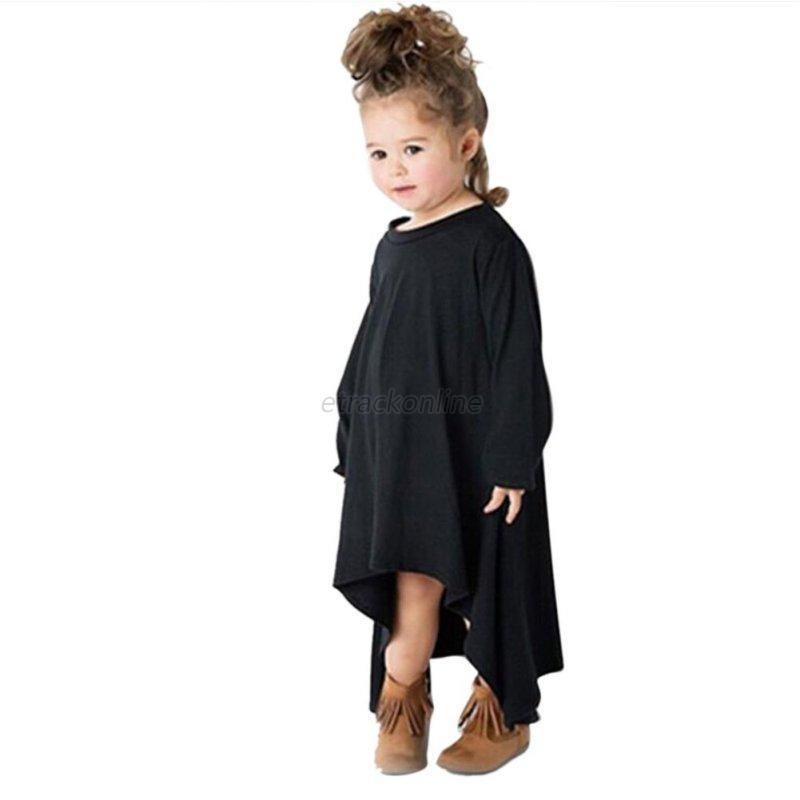 Toddler Baby Girls Autumn Clothes Long Sleeve T-Shirt Tops Princess Dress 2-6Y | eBay