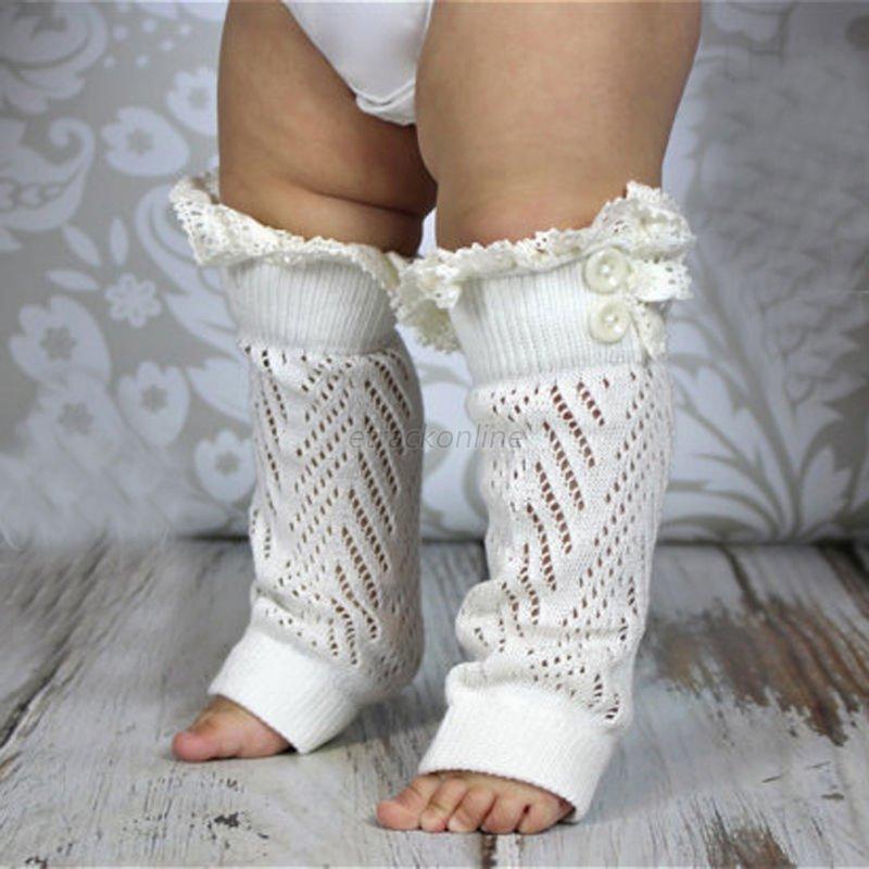 Baby Toddler Girl Boy Leggings Warmer Long Socks Leg