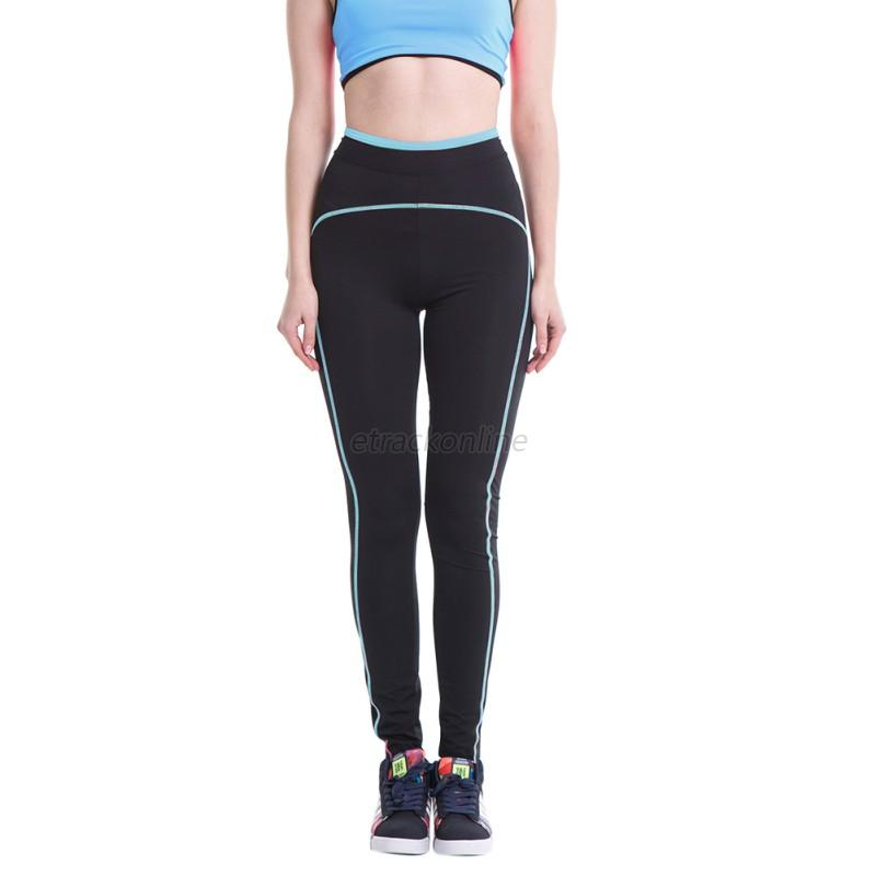 Womens Leggings Yoga Sports Athletic Fitness Stretch: Sexy Womens Sport Trousers Athletic Gym Workout Fitness