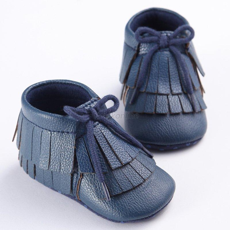 baby boys soft soled pu leather shoes infant toddler