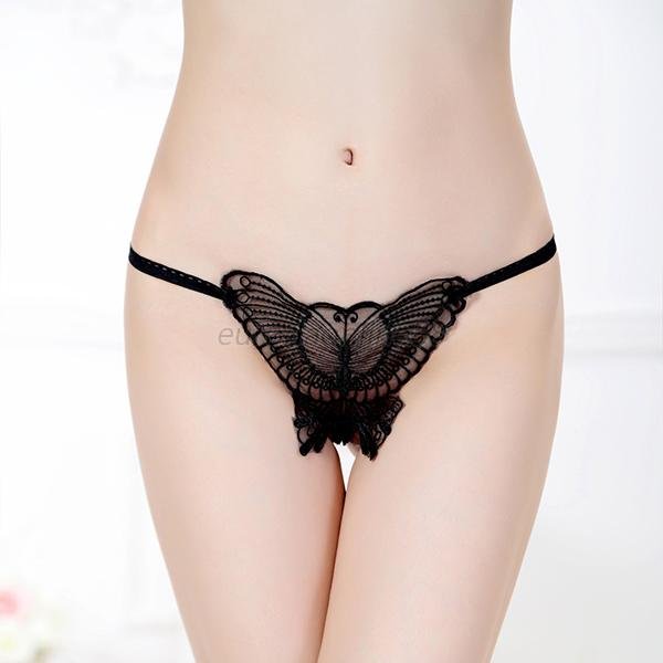 Thong lingerie butterfly