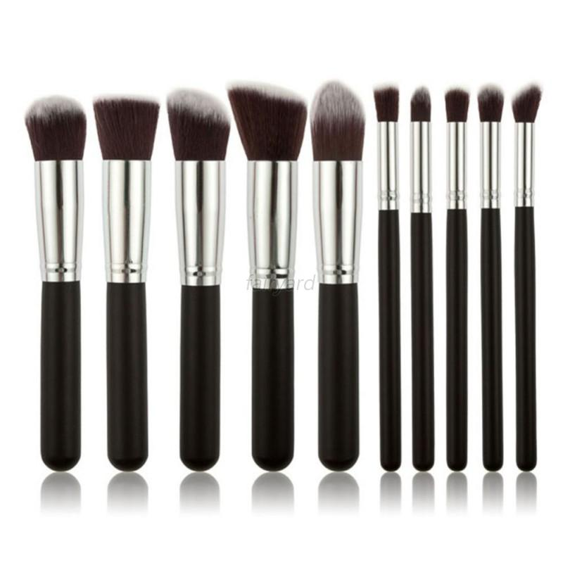 Good-Quality-10pcs-Care-Brushes-Women-Necessary-Makeup-Brush-Set-Foundation
