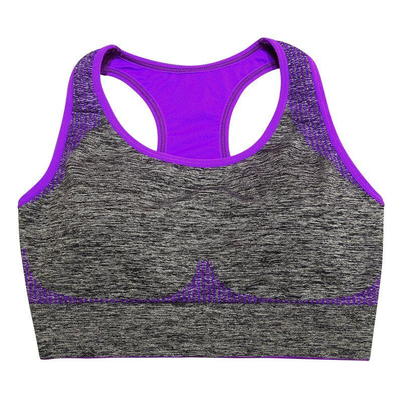 Femme-Yoga-Seamless-Racerback-Padded-Sports-Bra-Gym-Fitness-Stretch-Workout-Tank