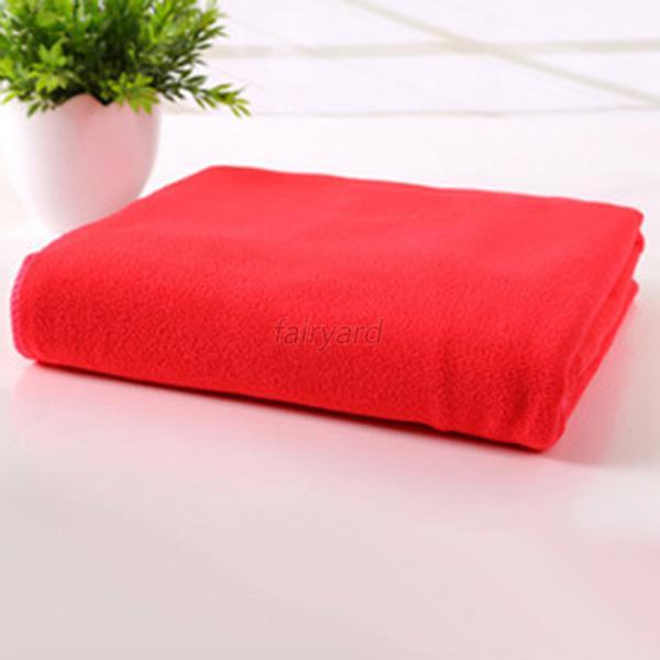 Zip Soft Microfiber Towel: Comfort Beauty Salon Gym Microfiber Soft Towel Fast Drying