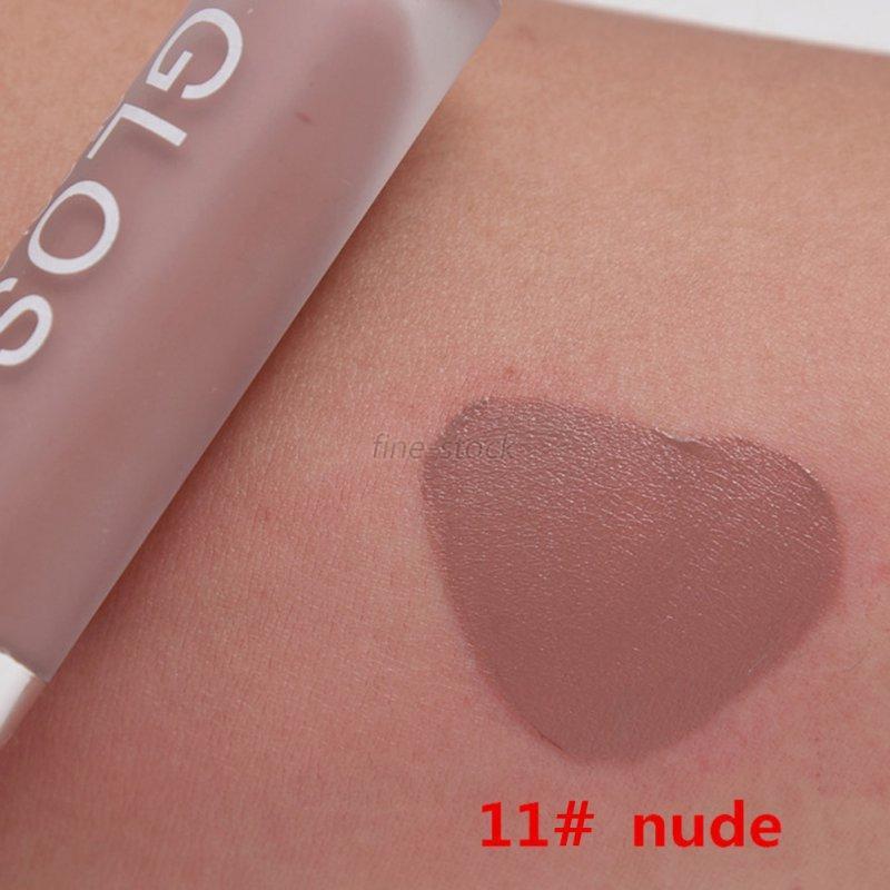 15Color Waterproof Makeup Lip Liquid Matte Lasting Lipstick Pencil Lip Gloss New