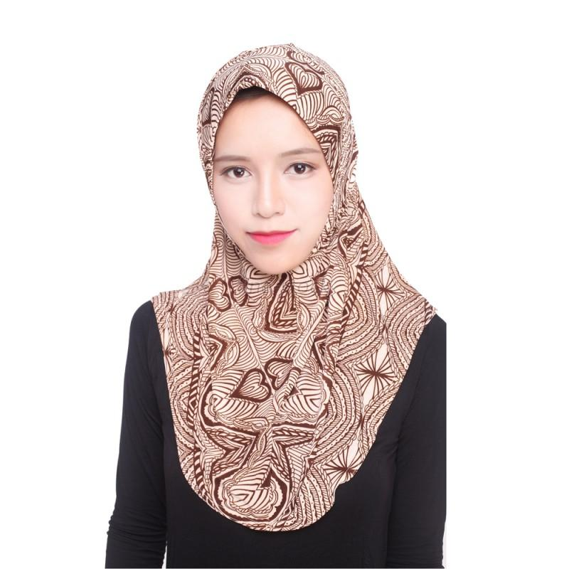 muslim fashion soft scarf islamic inner cap