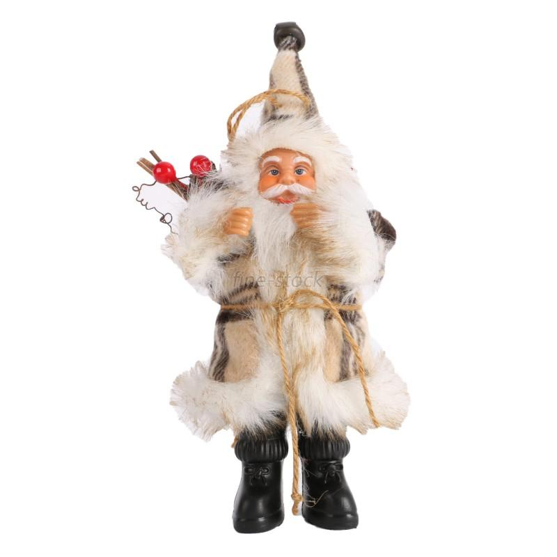 Santa Claus Decorations Uk: Xmas Tree Cute Ornaments Santa Claus Candy Hanging Decor