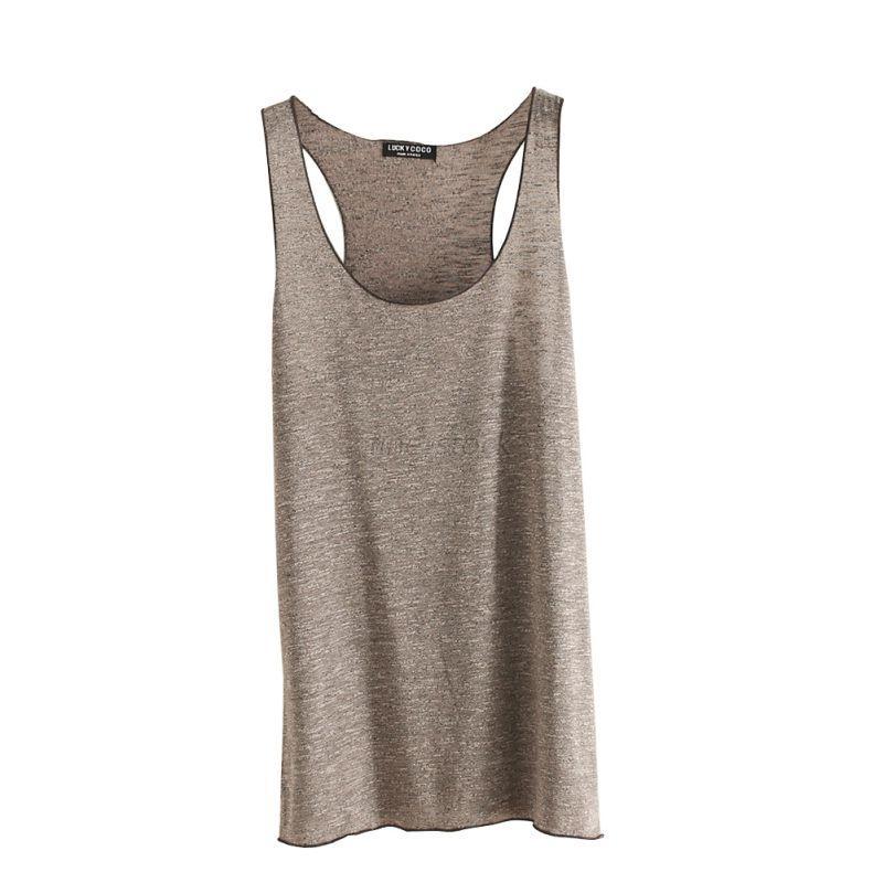 Women Girls Summer Sleeveless Casual Tank Top Vest T-Shirt ...