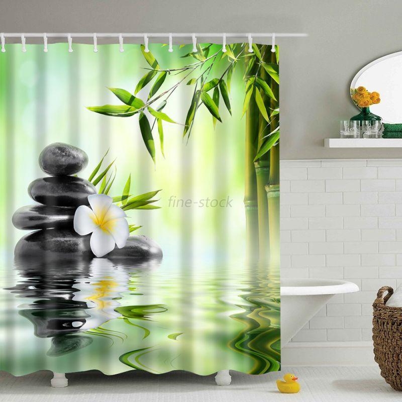 Bathroom Polyester Shower Curtain Animals Printing ...