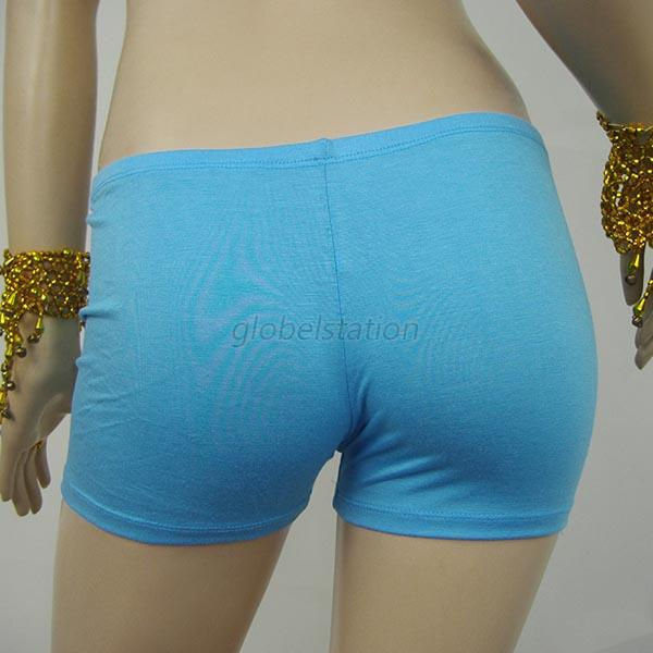 Multi-Color Women Yoga Seamless Mini Shorts Slim Exercise