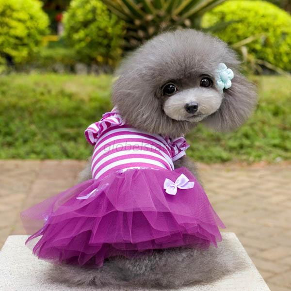 Cute Puppy Pet Dog Tutu Dress Lace Skirt Cat Princess